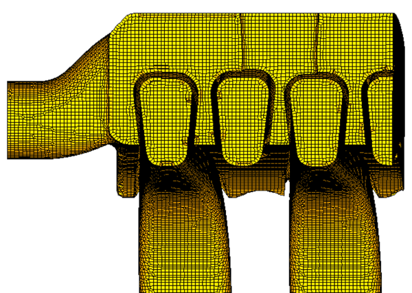 Automatic Hexa Mesh for CFD